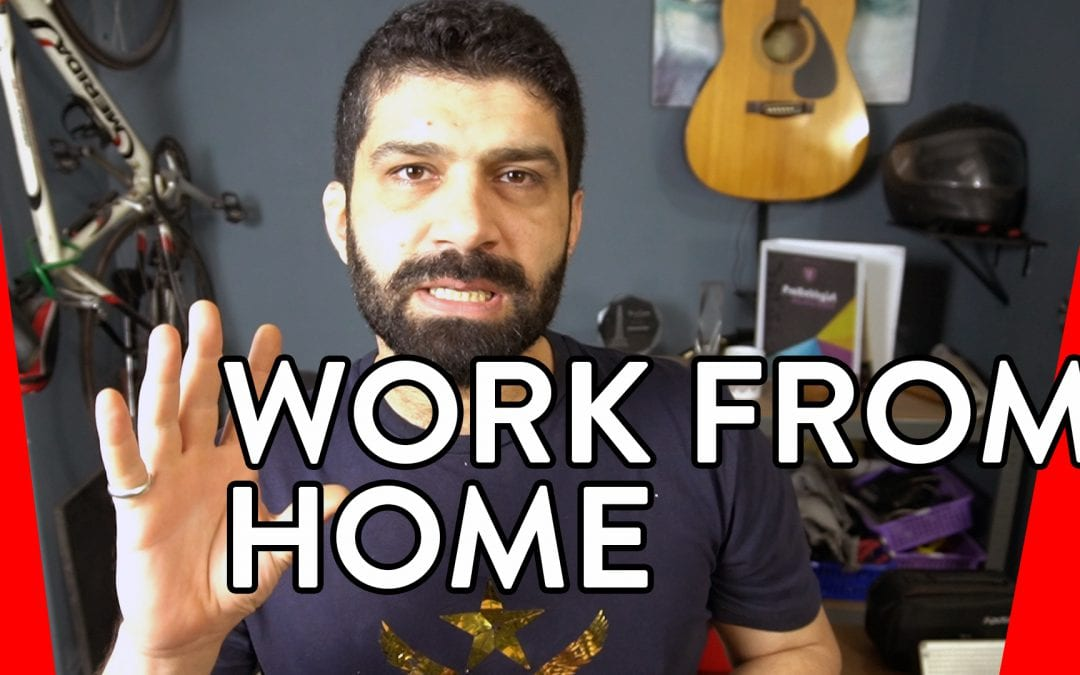 Working from home…(and Corona virus update from Lahore)